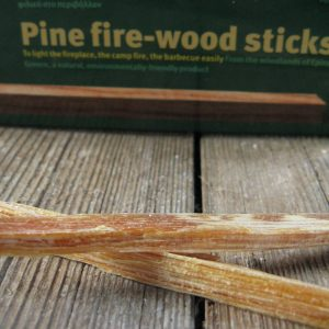 Pine fire-wood sticks