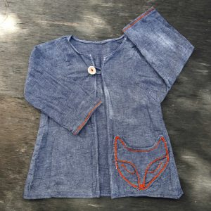blue jean dress for Katerina