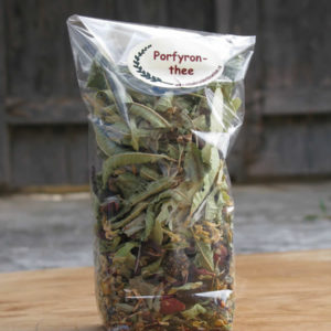 mountain tea from various herbs, zagorohoria, tymfi mountain