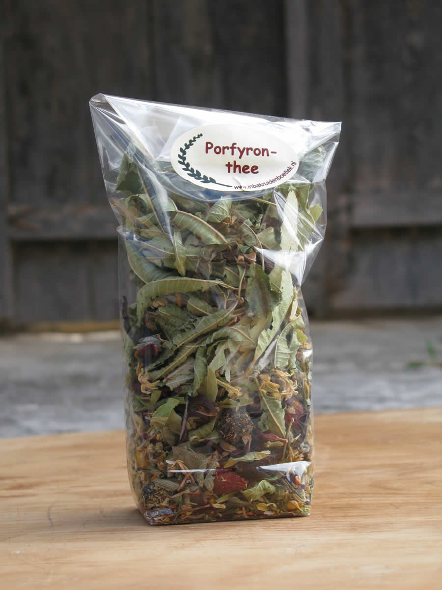 mountain tea from various herbs, zagorohoria, tymfi mountain