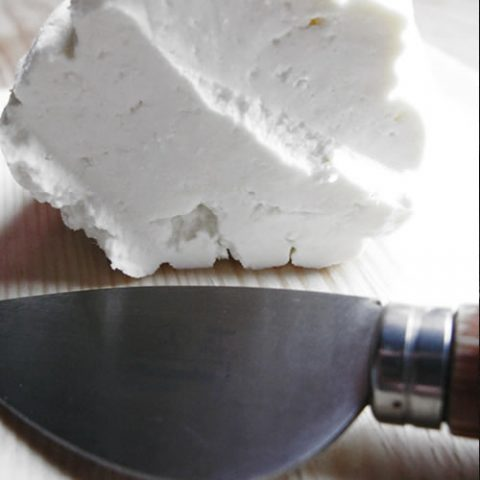 artisanal home made cheese from sheep milk