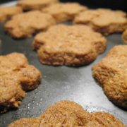 cookies with chanterelle mushrooms