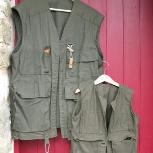 vest for wild mushroom hunting