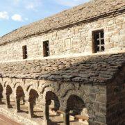 scale model of agios nikolaos church in pyrsogianne village