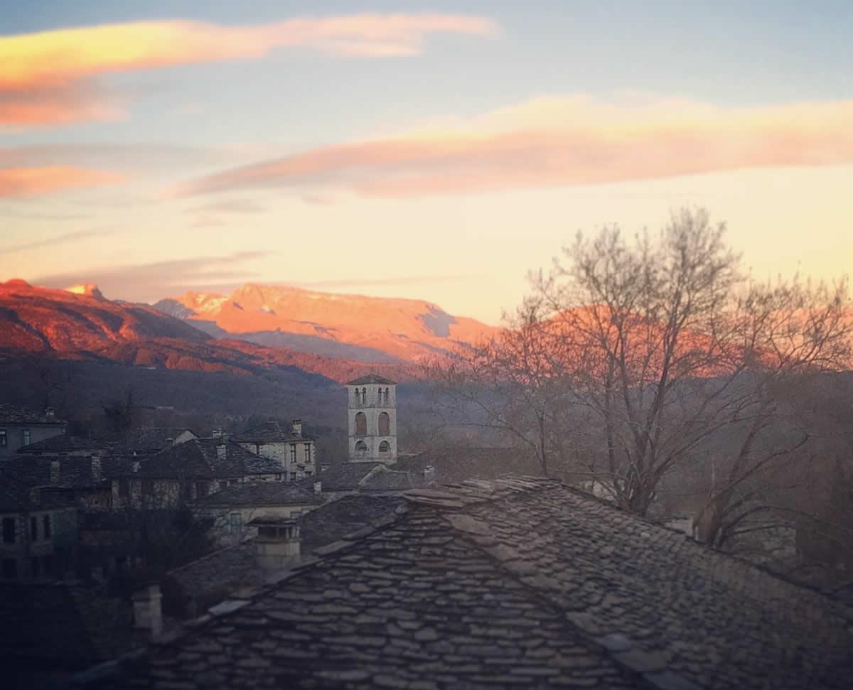 winter colours today in zagori